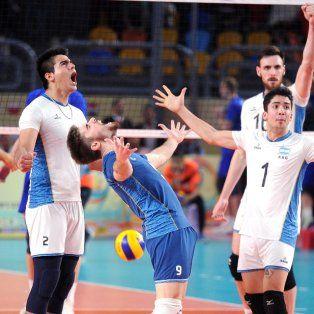 otro gran golpe del deporte argentino: el sub 23 de voley, campeon del mundo
