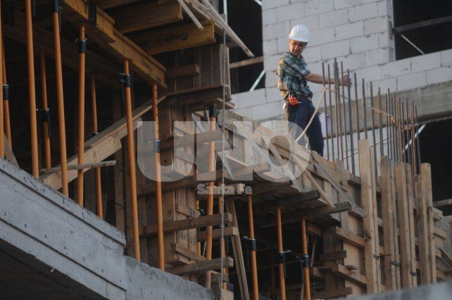 Con un crecimiento sostenido, la construcción lidera la suba del empleo registrado