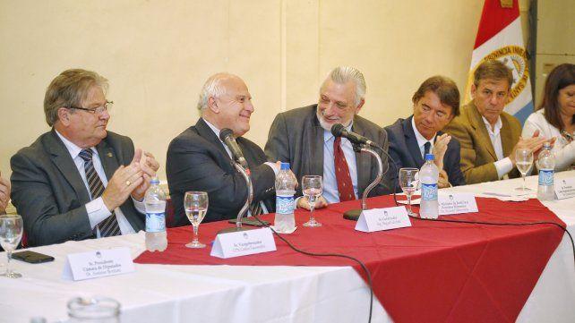 Lifschitz pidió una reforma del Código Procesal Civil y Comercial para brindar un mejor servicio