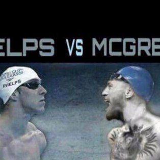 aparecio un nuevo desafiante para conor mcgregor: michael phelps