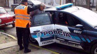 Trasladado. El martes, el médico fue identificado en la Policía Federal de Santa Fe y luego llevado a Comodoro Py, en Buenos Aires.