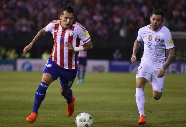 Chile pretende afianzar su posición ante Paraguay