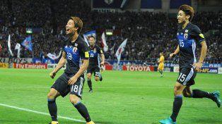 Japón estará en el Mundial de Rusia