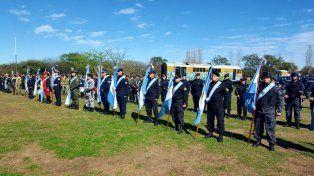 Conmemoraron los 153 años de la creación de la Policía de Santa Fe