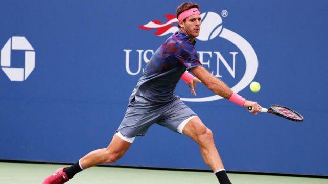 Del Potro sigue avanzando en el US Open