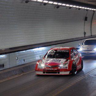 el cruce del tunel subfluvial fue todo un exito