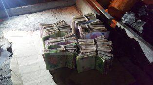 Detuvieron a un delincuente y recuperaron 118 mil pesos que robó en una vivienda
