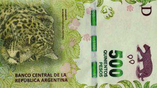 Viral: advierten sobre billetes falsos de $500