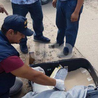 El 2 de abril. Una banda traficantes que distribuía en el norte provincial fue desbaratada.