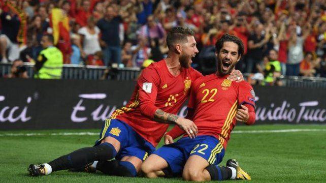 España derrotó a Italia y quedó a un paso del próximo Mundial