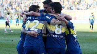 Boca fue más y se quedó con el Superclásico jugado en San Juan