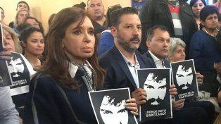 Ayer vi cosas oscuras en la Argentina, dijo Cristina Kirchner sobre los incidentes tras la marcha por Maldonado
