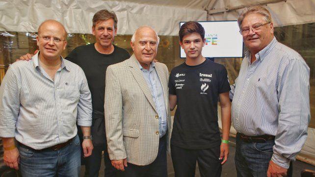 Lifschitz asistió en Santa Fe a la carrera nocturna del circuito callejero del Súper TC2000