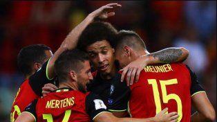 Bélgica también sacó pasaje directo a Rusia