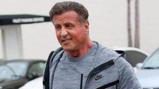 ¿Qué le pasó? La alarmante foto de Silvester Stallone