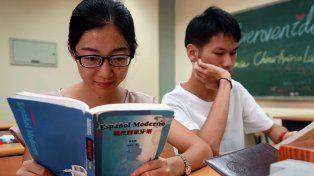 Cada vez más gente estudia español en China, un idioma que está de moda