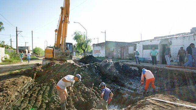 Municipio y Nación pavimentarán las calles que rodean a las torres del Parque Federal