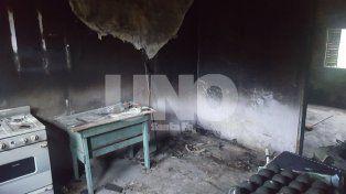 Prisión preventiva para un hombre investigado por quemar la casa en la que vivía su expareja