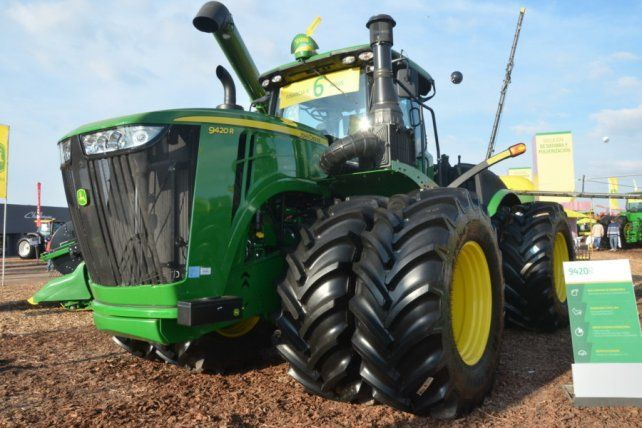 Las ventas de maquinaria agrícola aumentaron un 6
