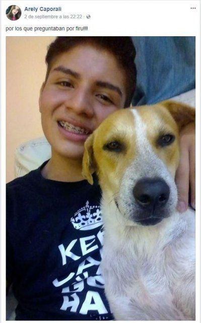 Salía borracho de un boliche, adoptó un perrito callejero y se volvió viral