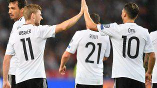 Alemania goleó y dio otro paso rumbo a Rusia 2018
