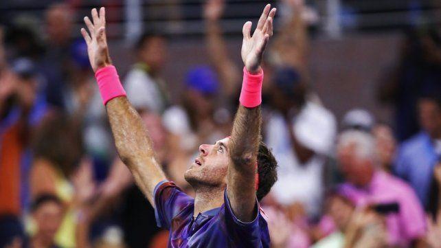 Consagratoria remontada de Del Potro en el US Open