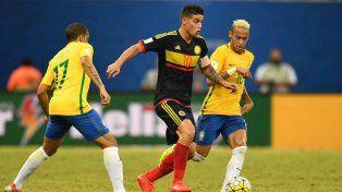 Colombia pretende asegurar su posición contra el puntero Brasil