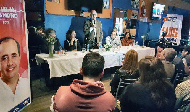 Bonfatti: En estas elecciones hay que votar para defender a Santa Fe