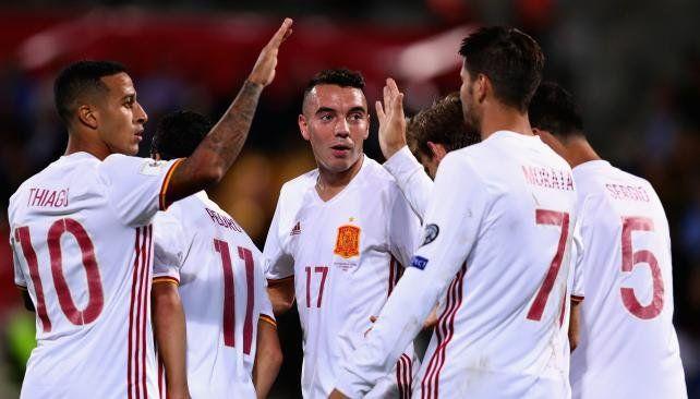 España se acercó a Rusia con un show de goles