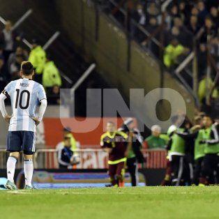 argentina no pudo ante venezuela y ahora tiene muy complicada su clasificacion a rusia