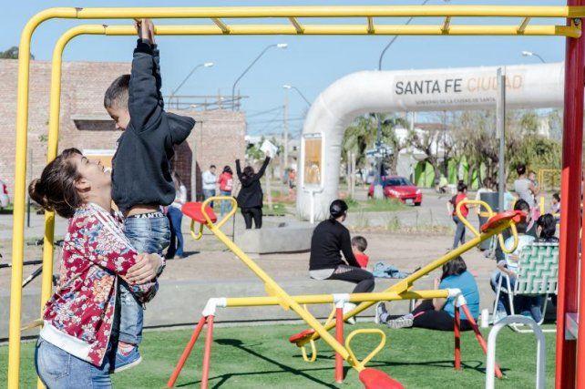 Plaza Los Cipreses, un nuevo lugar de encuentro para los vecinos en Coronel Dorrego