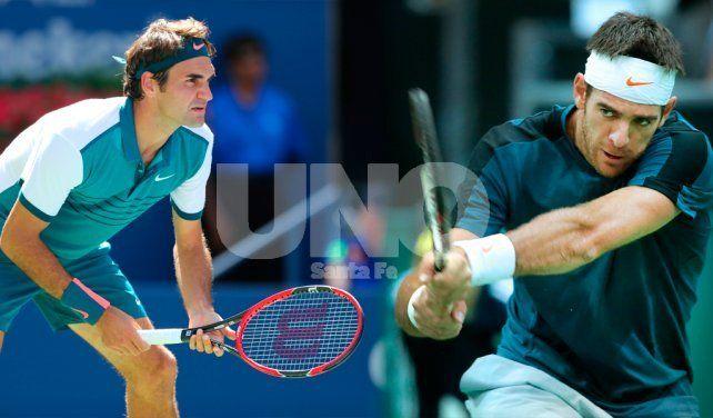 Del Potro pretende escribir un nuevo capítulo de gloria contra Federer