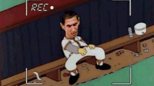 Una nueva lesión de Di María desató una catarata de memes