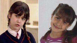 El antes y después de Nati Melcon, Tali de Chiquititas