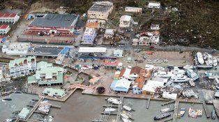 Irma en la Isla San Martín. Fuente Reuters Univision.