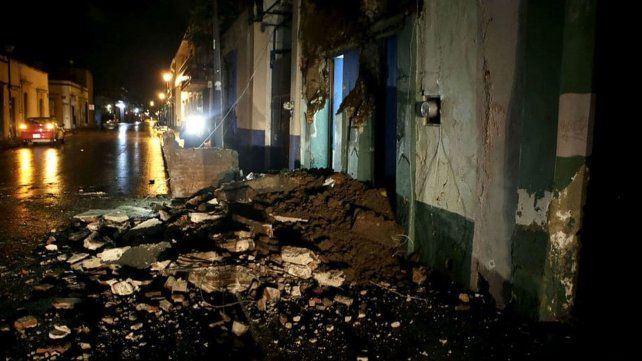 Un terremoto de 8,2 grados de magnitud sacudió el sur de México y dejó al menos 32 muertos