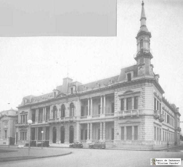 El edificio cuando era sede del Consejo de Educación.