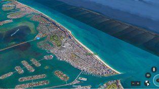 Así quedaría Miami tras el paso del huracán Irma