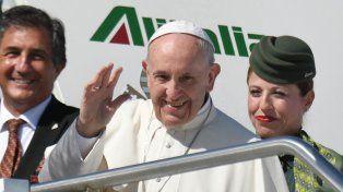 El papa Francisco inicia la última etapa de su gira en Colombia