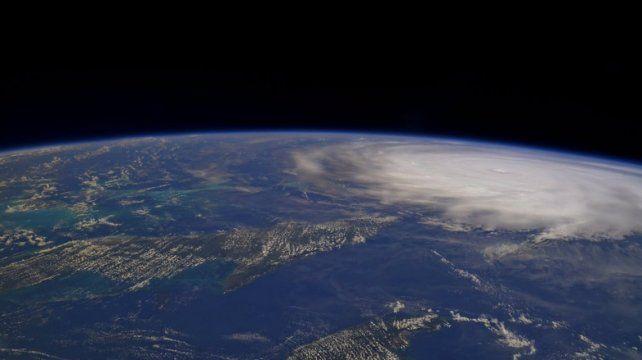 Así se ve la inmensidad del huracán Irma desde el espacio