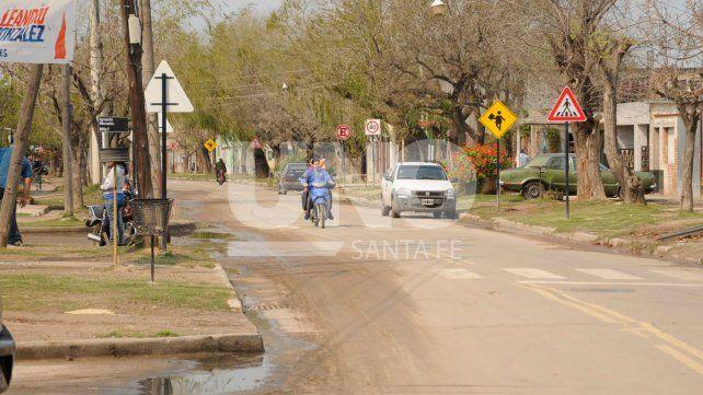 La obra del asfalto generó un importante cambio para los vecinos de Alto Verde.