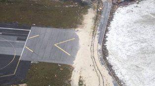 Huracán Irma: jubilados de Santa Cruz varados en Sain Martin desde el miércoles