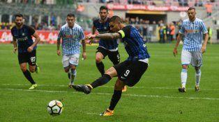 Icardi anotó e Inter sigue con puntaje ideal