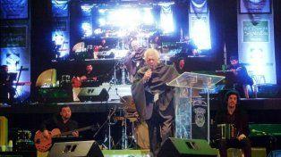 Raul Lavié en el escenario principal