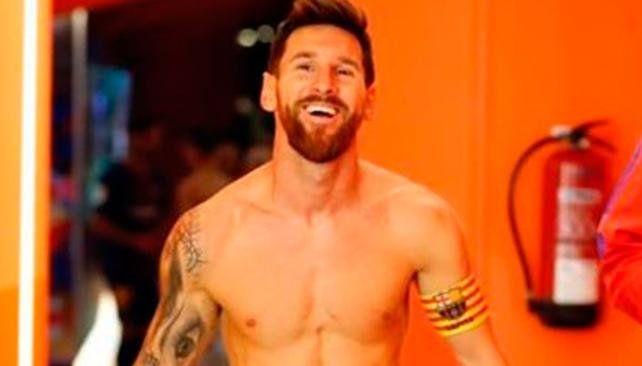 Fin del misterio: Messi mostró su nuevo tatuaje