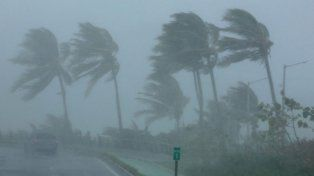 El peor momento de Irma en Miami