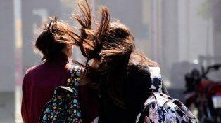 Se renovó el alerta por vientos fuertes que abarca a toda la provincia de Santa Fe
