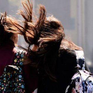 se renovo el alerta por vientos fuertes que abarca a toda la provincia de santa fe