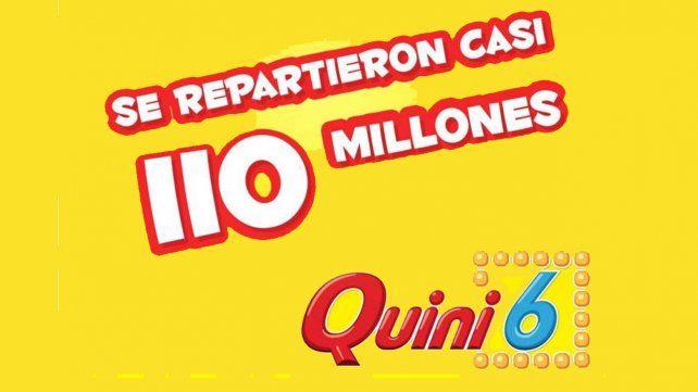 El Quini 6 hizo millonarios a cuatro apostadores en el sorteo con el pozo más alto de su historia