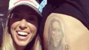 ¡Insólito! Un hincha de Racing se tatuó a la hija del presidente